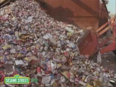Sesame Street: Recycling Aluminum Cans (2:06)