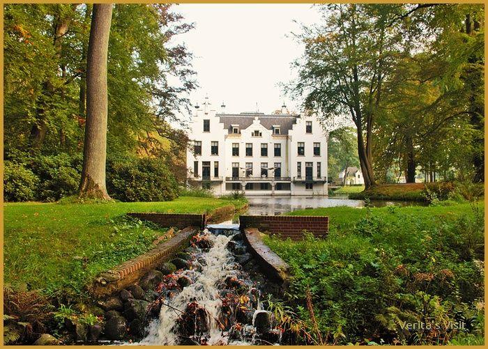 Castle in Dutch #autumn #theNetherlands #landscape #Holland
