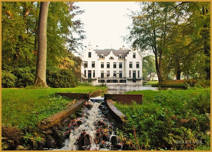 Castle in Dutch #autumn #theNetherlands #landscape #Holland