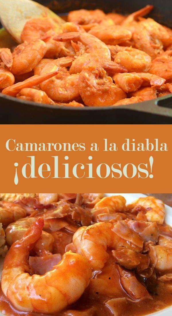 camarones ala diabla | CocinaDelirante