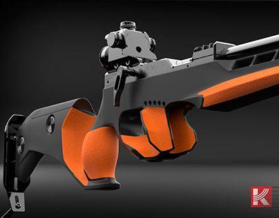 "Check out new work on my @Behance portfolio: ""Biathlon rifle"" http://be.net/gallery/44921471/Biathlon-rifle"