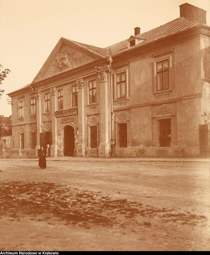 """Pod Lwem"", ul. Józefińska 4, ok. 1908-1910."