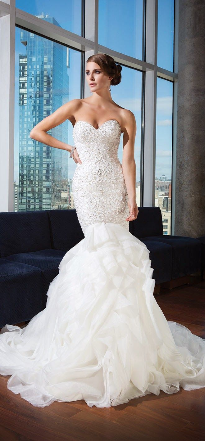 Justin Alexander Signature Spring 2014 Bridal Collection   bellethemagazine.com