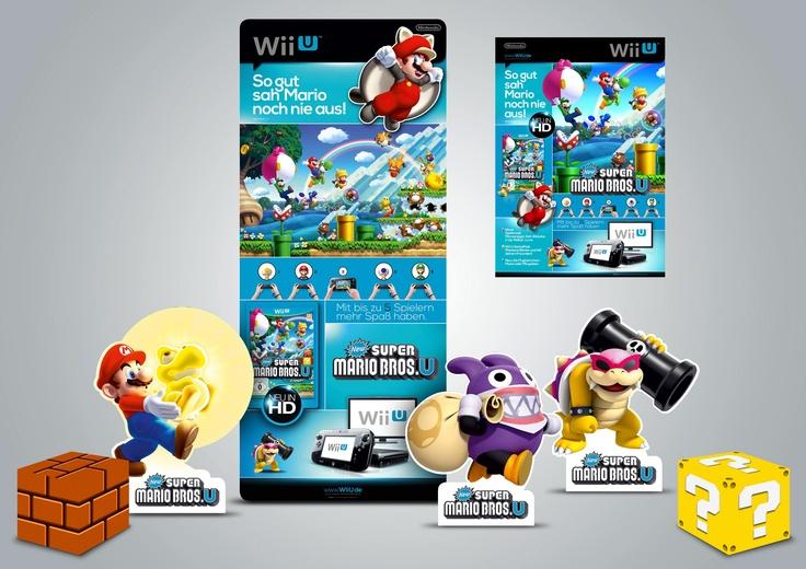 POS Flight . New Super Mario Bros. U . Wii U
