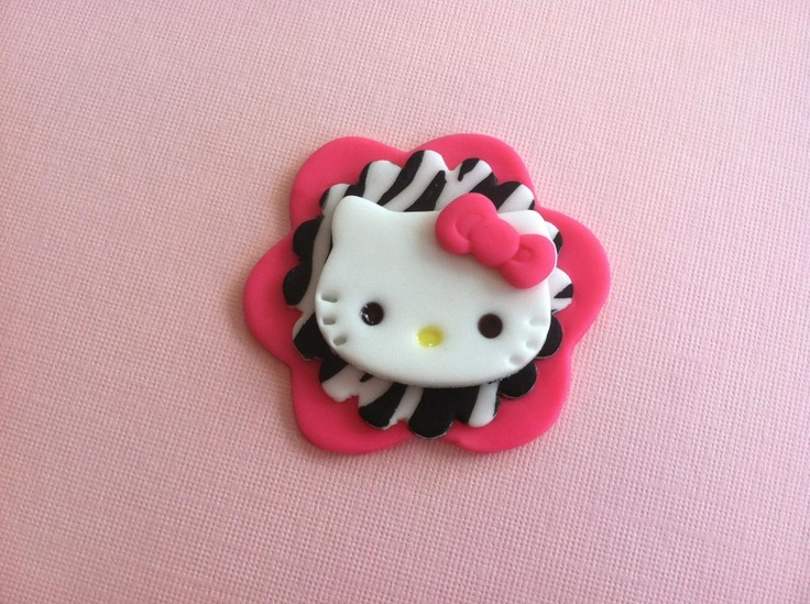 Deco Cupcake Hello Kitty : 74 best images about Cold Porcelain- KITTY - Pasta ...