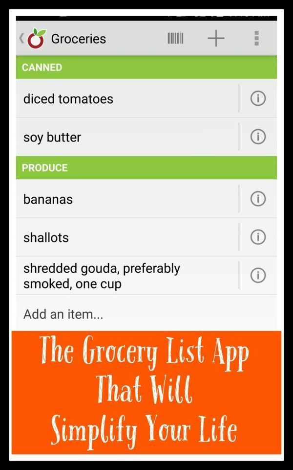 Can a grocery list app change your life? We think so! | Fit Bottomed Mamas