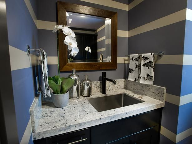 - Laundry Room Pictures From HGTV Dream Home 2014 on HGTV: Bathroom Stripes, Stainless Steel Sinks, Hgtv Dreams Home, Hgtv Dream Homes, Countertops Providence, Laundry Rooms, Bathroom Ideas, Rooms Pictures, Granite Countertops