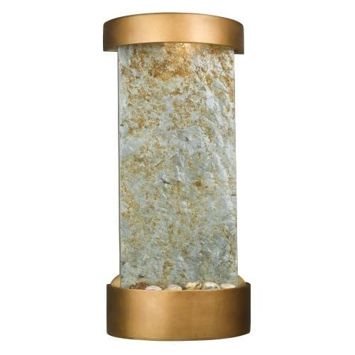 Kenroy Home 53238 Midstream 25 High Table Fountain, Natural Slate With Copper (Stone)