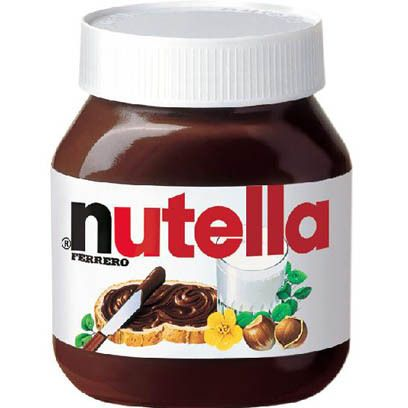 Nutella Large (825 gr Glass Jar)  Quand on aime on ne compte pas !!