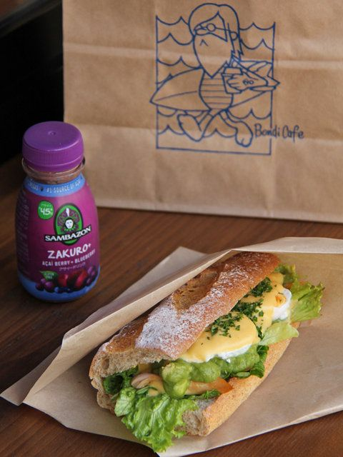 「BONDI COFFEE SANDWICHES」