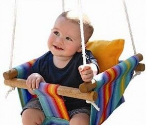 Canvas Baby Swing Pattern Easy DIY Project