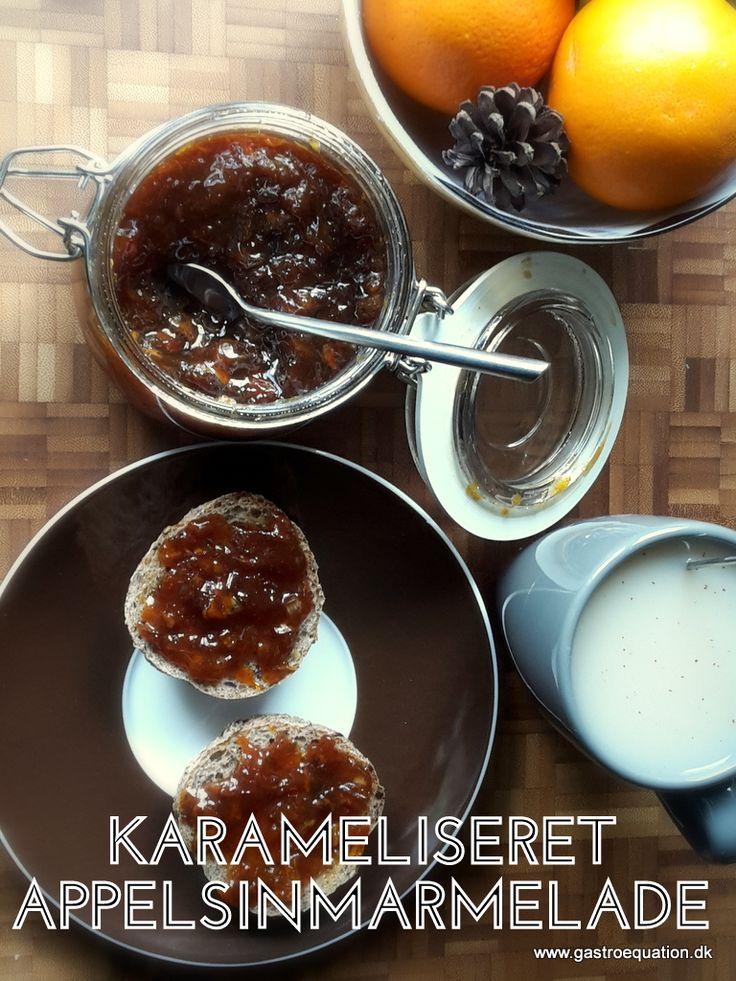 Så simpelt så godt. Appelsin, sukker og vanilje giver denne lækre karamelliserede appelsinmarmelade, som er en fantastisk ledsager til et godt stykke brød.