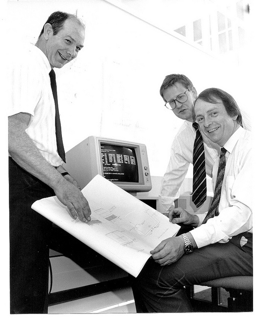 It works! - early computer Park Campus Northampton c.1980s (NENE-photos) by University of Northampton Archive, via Flickr