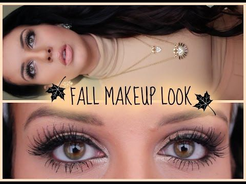 FALL MAKEUP: Bronze Look Tutorial   Trucco Autunnale with Italian S - YouTube