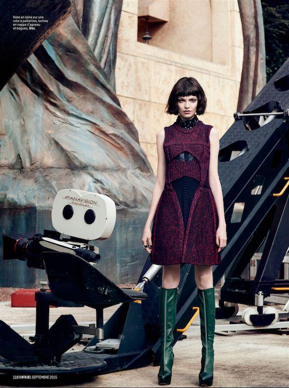 L'Officiel Switzerland - Dior - Photo: Michèle Bloch Stuckens - Stylisme: Olivia Bidou