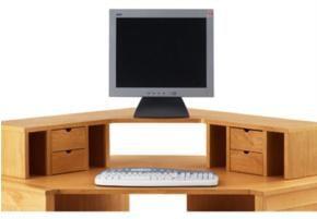 Modular Corner desk top unit - DARK £249 @furniture Village
