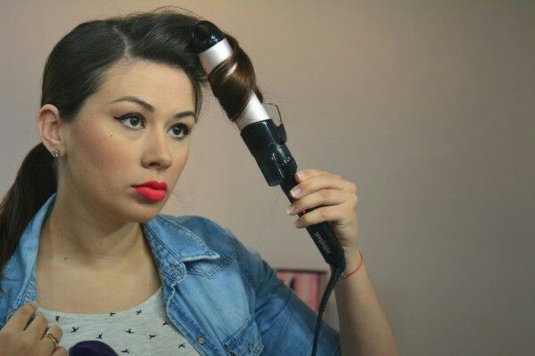 How to curls with Babyliss curler on makeupswan.net
