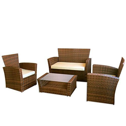 best 25+ garten lounge günstig ideas on pinterest | sofa günstig ... - Rattan Gartenmobel Braun