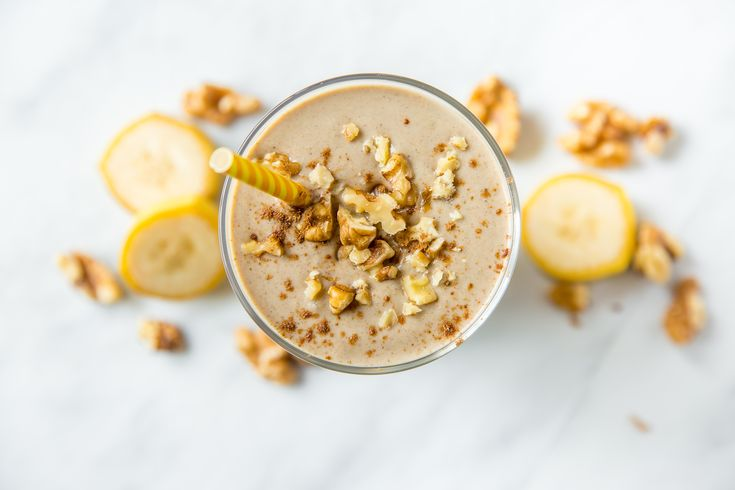Skip the Oven and Have a Healthy Banana Bread Smoothie