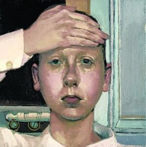 Alison Watt Self Portrait