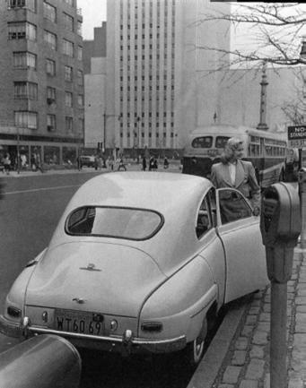 SAAB 93 Vintage Photography, New York, NY