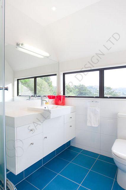 Ensuite 122 By Sally Steer Design. Wellington. NZ
