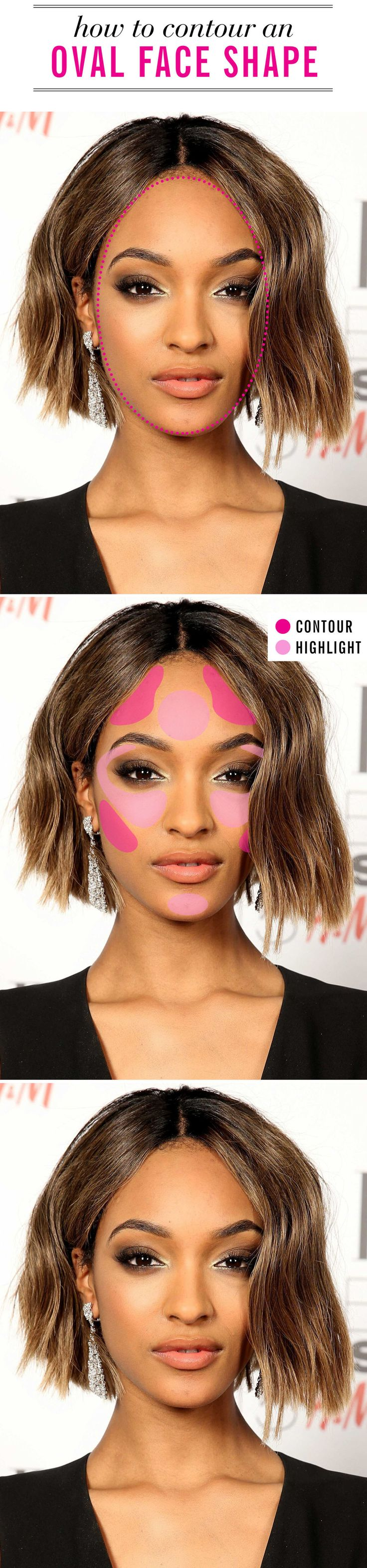 The best contouring technique for EVERY face shape. Click through to find your ultimate guide on mastering the makeup look:
