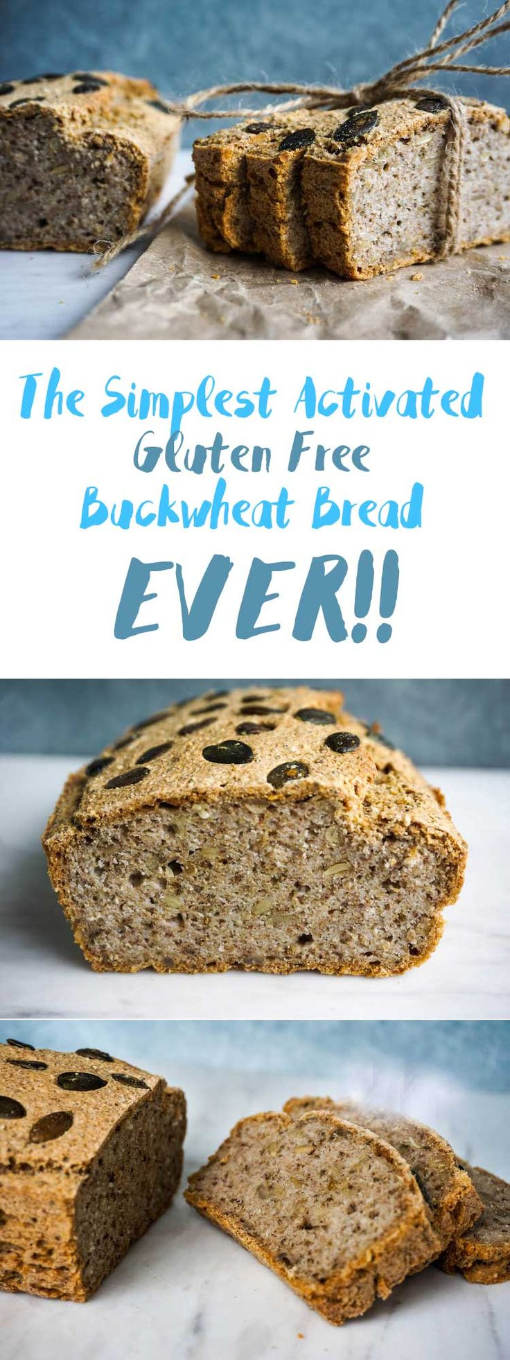 The Simplest Activated Buckwheat Bread Ever | Sproutly Stories