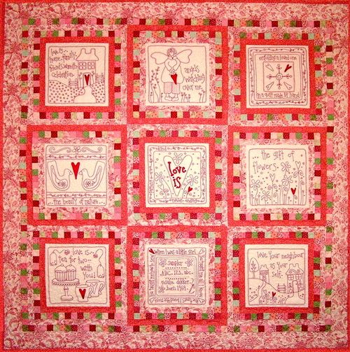 Love Is Block of the Month