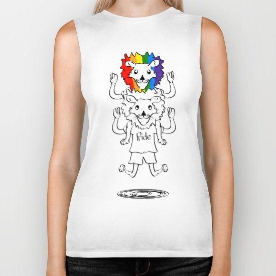 gay pride lions t-shirt