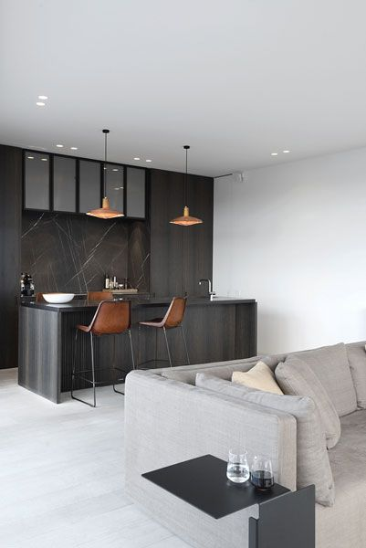 selected works - Daskal & Laperre interior architects - - D Appartment | Awesome Environments  | Black Kitchens, Kitchens and Interior Architects