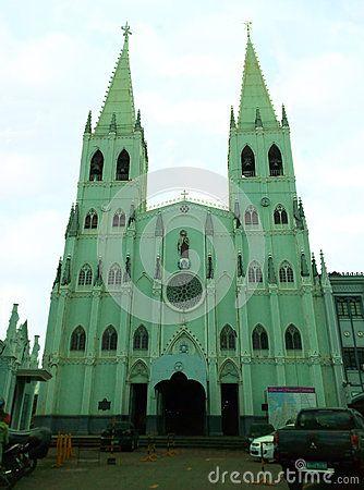 An almost steel structure built in 1891, located at Plaza del Carmen near Quiapo, Manila.
