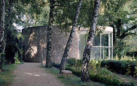 buildinghead:  Erwin Heerich - Museuminsel Hombroich, Germany,...