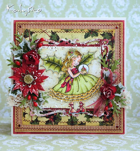 49 Best Cards Mo Manning Christmas Fairy Holly Images On