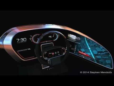 Automotive UI (Project Urbano) - YouTube