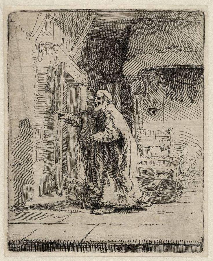 Mijn favoriete Rembrandt in Teylers Museum: De blinde Tobit (B42)