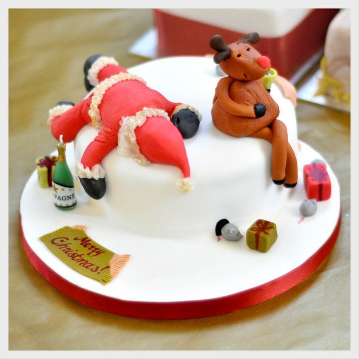 Decorating A Christmas Cake Part - 28: If You Have Always Wanted To Be Able To Decorate A Cake But Donu0027t