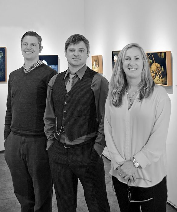 The summer issue of Santa Barbara Seasons spotlights New Sullivan Goss Gallery owner Nathan Vonk (pictured with his colleagues and fellow curators Jeremy Tessmer and Susan Bush).   http://sbseasons.com/2017/07/first-person-sullivan-goss-gallerys-nathan-vonk/ #sbseasons #sb #santabarbara #SBSeasonsMagazine #FirstPerson #SullivanGossGallery #NathanVonk  To subscribe visit sbseasons.com/subscribe.html