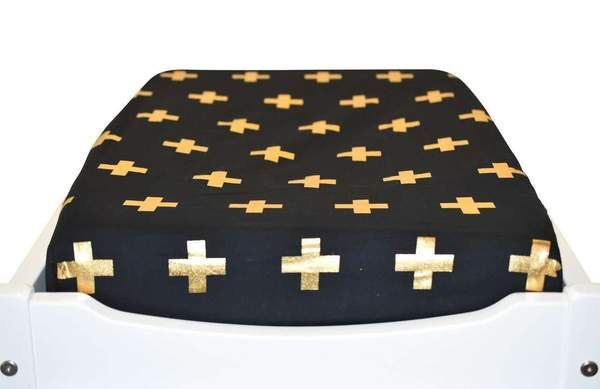 Featuring ultra-soft cotton in designer fabrics, Bambella Designs change table mat cover is the perfect practical piece to complement your baby's nursery. The c