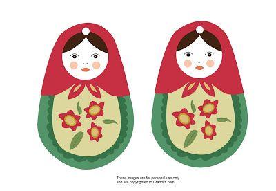 Diy Feltro: Matryoshkas para sua �rvore de Natal #EnfeitesdeNatal #Matryoshkas #Babushkas #Natal #PingentesdeNatal