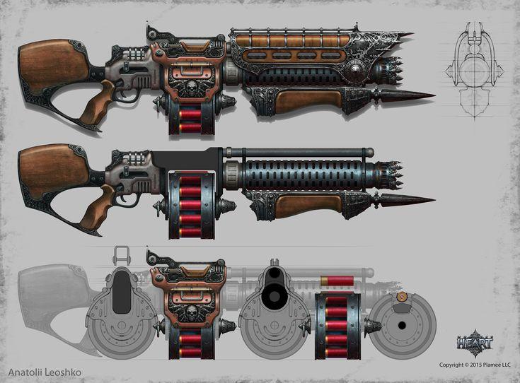 ArtStation - shotgun, Anatolii Leoshko