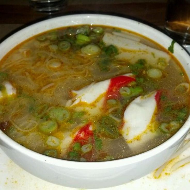Seafood Noodle Soup - Creasian - Zmenu, The Most Comprehensive Menu With Photos
