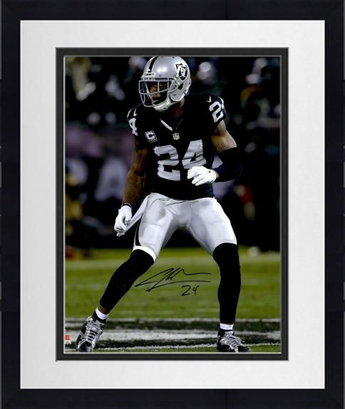 b0a622859 Framed Charles Woodson Oakland Raiders Autographed 16