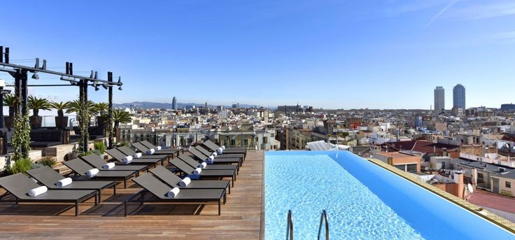 Grand Hotel Central @ Barcelona  - amazing SKY bar and super central