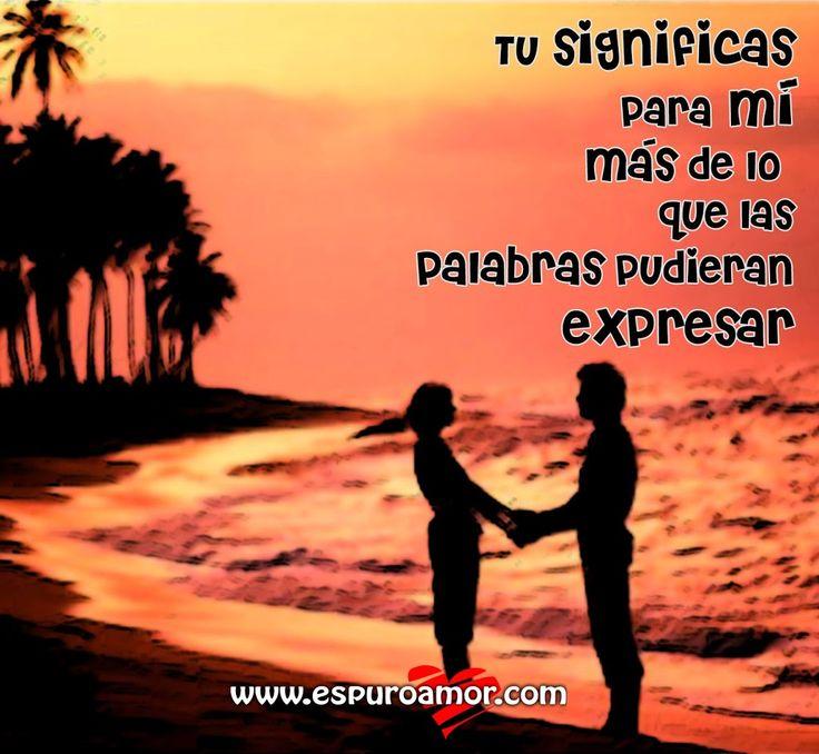 Pareja de la mano en atardecer de playa con frase de amor para compartir en facebook - http://espuroamor.com/2014/01/pareja-de-la-mano-en-atardecer-de-playa-con-frase-de-amor-para-compartir-en-facebook.html #Frasesparaenamorar, #Frasesromanticas, #Imagenesdeamor, #Imagenesdeparejas