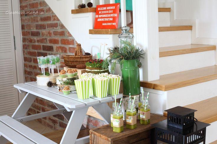 Tables – Drewniany stolik piknikowy dla 4 dzieci – a unique product by ihaha on DaWanda