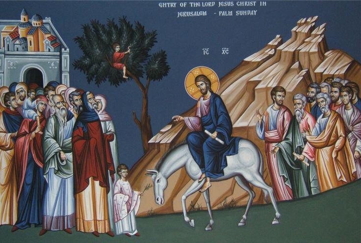 Вход Господень в Иерусалим. Церковь Святой Троицы, Бутте, США