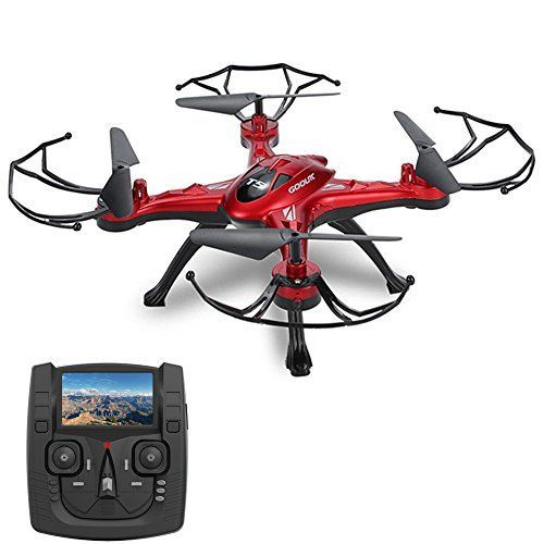 GoolRC T5G 5.8G FPV Drone with 2.0MP HD Camera Live Video, Headless Mode, One Key Return and 3D Flips RC Quadcopter - http://dronescenter.net/goolrc-t5g-5-8g-fpv-drone-2-0mp-hd-camera-live-video-headless-mode-one-key-return-3d-flips-rc-quadcopter/