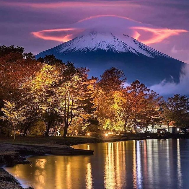 Cherry Blossom In Taiwan 2019 Forecast The Best Time Top 8 Best Places To See Cherry Blossoms In Taiwan L Lenticular Clouds Nature Photography Mount Fuji
