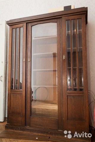 Антикварный шкаф для книг — фотография №5